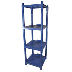 Impact® 4-Shelf Stack Rack Storage & Dispensing Shelves
