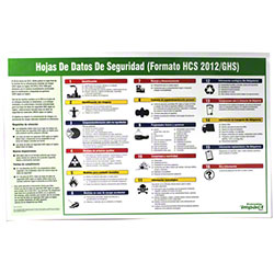 Impact® Spanish GHS Safety Data Sheet Poster