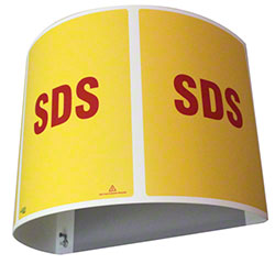 Impact® SDS 180-Degree Projection Sign