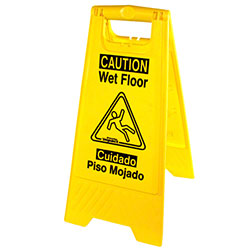 "Impact® English/Spanish ""Wet Floor"" Sign"
