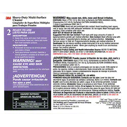 "3M™ Twist n"" Fill™ HD Multi-Surface Cleaner Label"