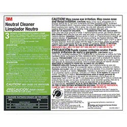 "3M™ Twist n"" Fill™ Neutral Cleaner Label"