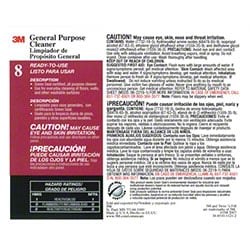 "3M™ Twist n"" Fill™ 8L General Purpose Cleaner Label"