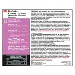 "3M™ Twist n"" Fill™ Country Day Scent Deodorizer Label"