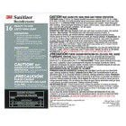 "3M™ Twist n"" Fill™ Sanitizer Label"