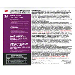 "3M™ Twist n"" Fill™ Industrial Degreaser Label"