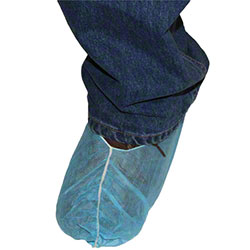 """Impact® PolyLite Blue Shoe/Boot Cover - Large (16"""")"""