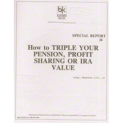 ISSA How to Triple Your Pension, Profit Sharing, IRA Value
