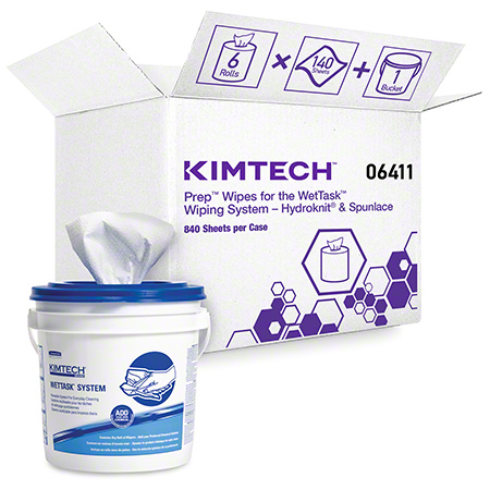 Kimtech Prep™ Wipes for the WetTask™ Wiping System - 140 Ct.