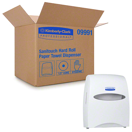 Kimberly-Clark® SaniTouch® Roll Towel Dispenser - Pearl