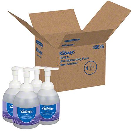 Kleenex® Reveal™ Ultra Moisturizing Foam Hand Sanitizer