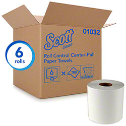 "Scott® Center Pull Towel - 8.8"" Dia."