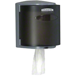 KC Roll Control Center-Pull Towel Dispenser - Smoke Grey