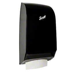 Kimberly-Clark® Scottfold® Folded Towel Dispenser -Black
