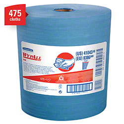Kimberly-Clark® WYPALL® X80 Jumbo Roll Wiper - Blue