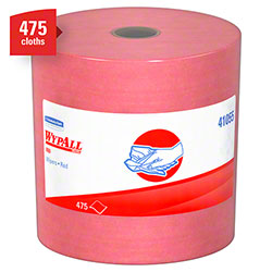 Kimberly-Clark® WYPALL® X80 Jumbo Roll Wiper - Red