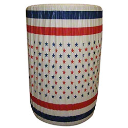 Kwik-Can Covers™ - 55 Gal., Patriotic
