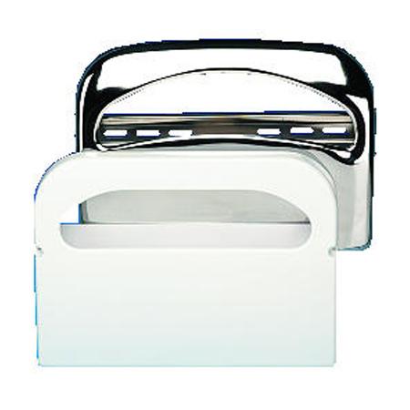 Toilet Seat Cvr Dsp 16x3.25x11.5 Chrm