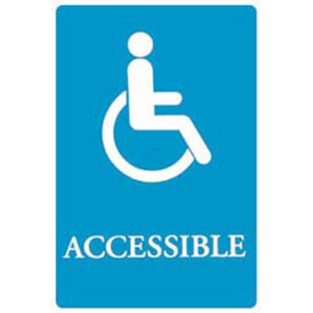 6x9 Ada Sign| Accessi -bl/we