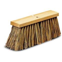 Palmyra Stalk Street Broom 16 In Wood Block 12