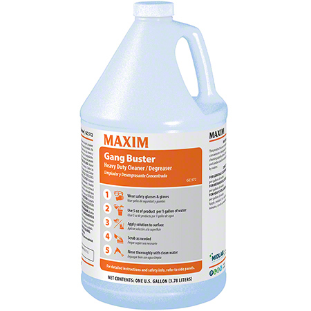 Maxim® Gang Buster Heavy Duty Cleaner/Degreaser - Gal.