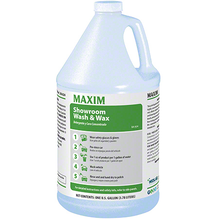 Maxim® Showroom Wash & Wax - Gal.
