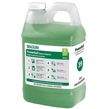 Maxim® #39 Powerball Concentrated Cleaner/Degreaser - 64 oz.