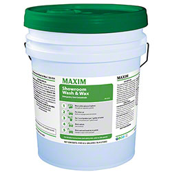 Maxim® Showroom Wash & Wax - 5 Gal.