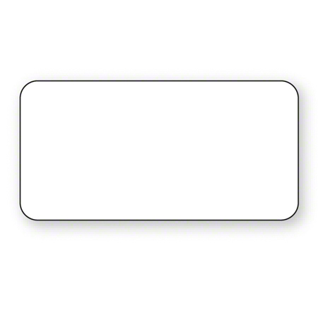 """NCCO 2"""" x 1"""" Blank DuraPeel™ Removable Label"""