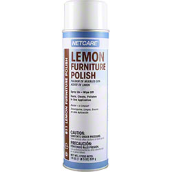 Netcare® Lemon Furniture Polish - 19 oz. Net Wt.
