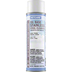 Netcare® Oil Base Stainless Steel Cleaner - 15 oz. Net Wt