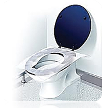Toilet Seat Covers, 1/2 Fold, LEED & Green