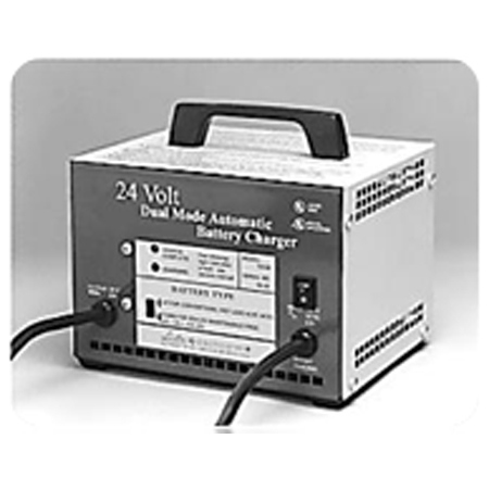 Lester Battery Charger, 24V, 12amp, Dual Mode Automatic