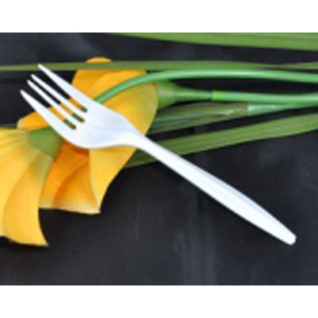 White Medium Weight Forks