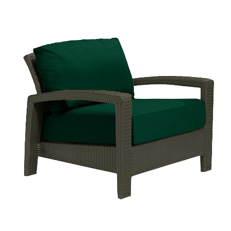 Tropitone Open Arm FrstGr Cushioned Poolside Seating