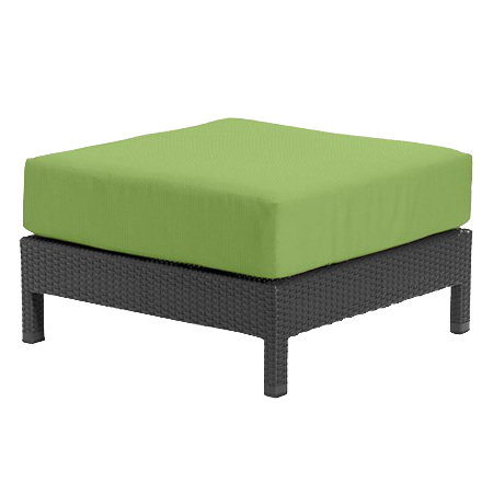 Tropitone Ottoman Parrot Cnvs Cushioned Poolside Seating