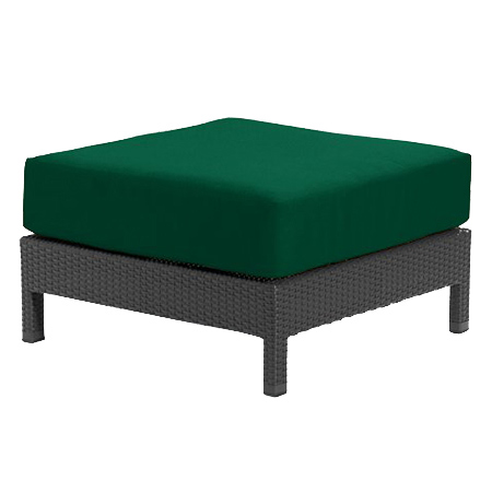 Tropitone Ottoman FrstGrn Cnvs Cushioned Poolside Seating