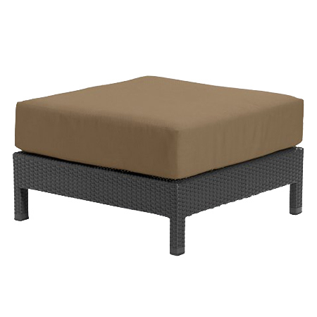 Tropitone Ottoman Camel Cnvs Cushioned Poolside Seating