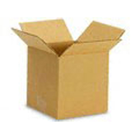 Cardboard Shipping Boxes - 6 x 6 x 6