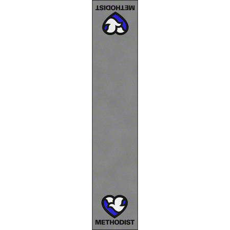 Classic Impressions Methodist A-Vertical Mat - 6' x 30'