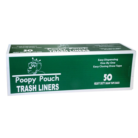 Crown Products Poopy Pouch Trash Liner - 13 Gal.