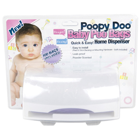 Crown Products Poopy Doo Baby Poo Dispenser Combo