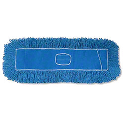 "Premium Dust Mop Head, Blue 36"" x 5"""
