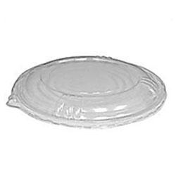 Catering Plastic Lid, Clear, Snap-Tight