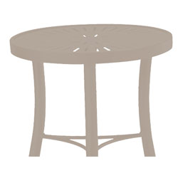 Tropitone Side Table Moab Cushioned Poolside Seating