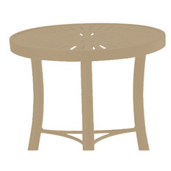 Tropitone Side Table Sonora Cushioned Poolside Seating