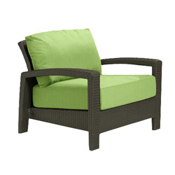 Tropitone Open Arm Parrot Cushioned Poolside Seating