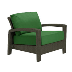 Tropitone Open Arm Palm Cushioned Poolside Seating