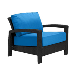Tropitone Open Arm Capri Cushioned Poolside Seating