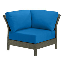 Tropitone Corner Seat Capri Cushioned Poolside Seating